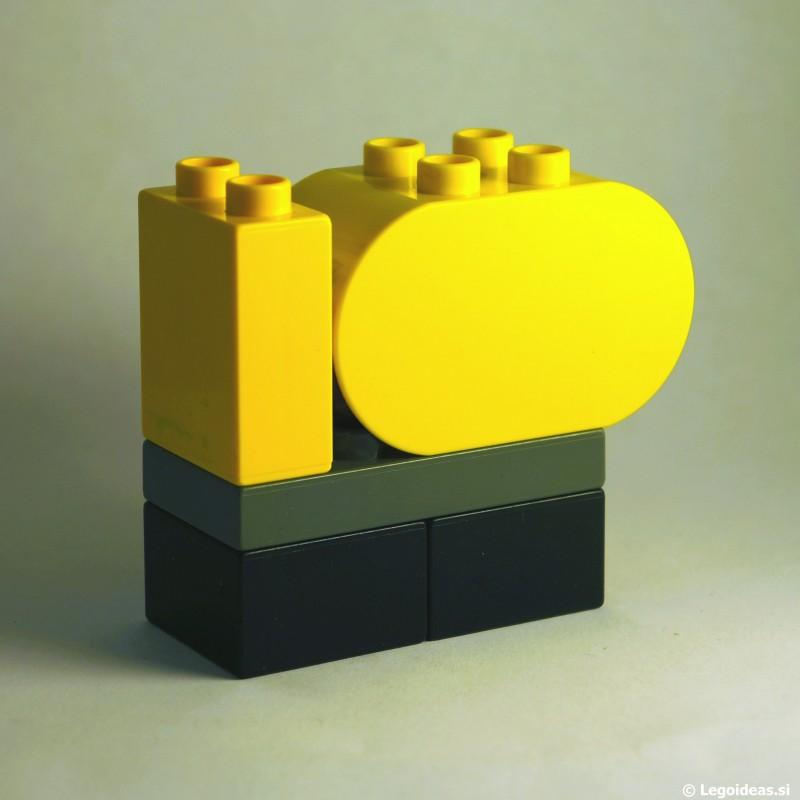 Lego Duplo Concrete Mixer Truck