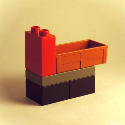 Lego Duplo load truck