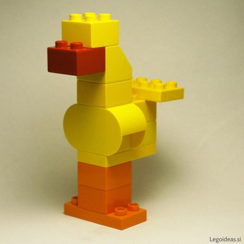 Lego Duplo veliki rumeni ptič (Sezamova ulica)