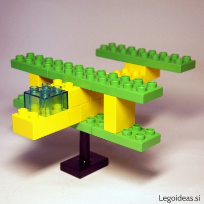 Lego Duplo biplane