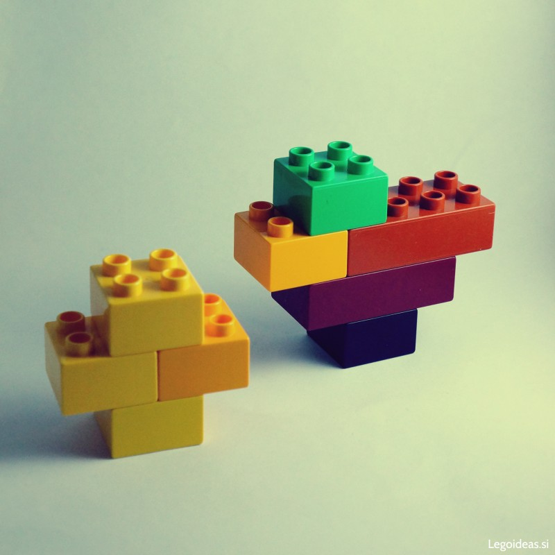 Lego Duplo duck and ducky