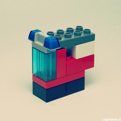 Lego Duplo fire brigade truck