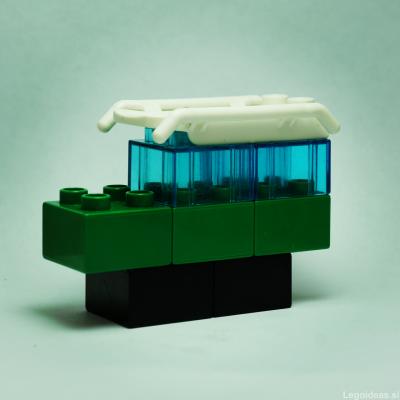 Lego Duplo forest patrol jeep