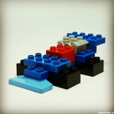 Lego Duplo formula one