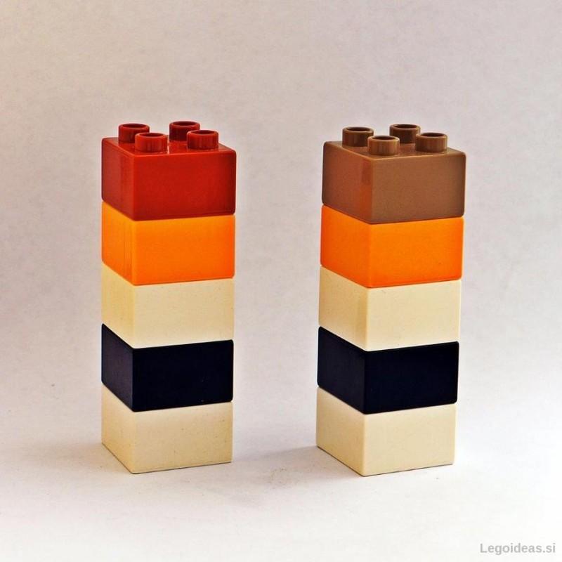 Lego Duplo karate masters