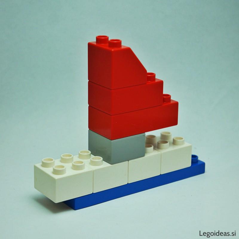 Lego Duplo sailboat