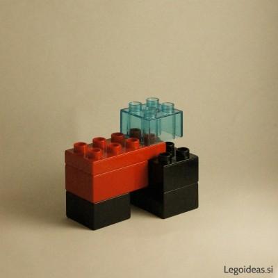 Lego Duplo tractor