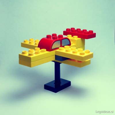 Lego Duplo acrobatic airplane