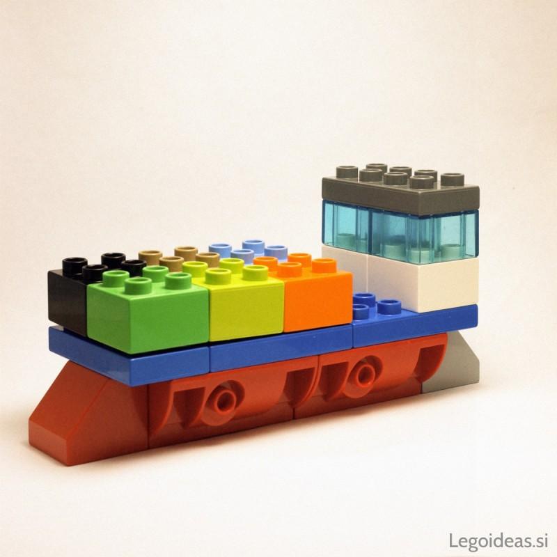 Lego Duplo cargo ship