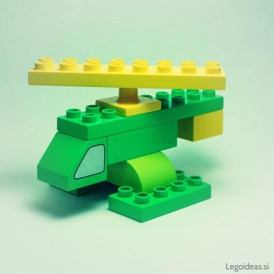 Lego Duplo helicopter