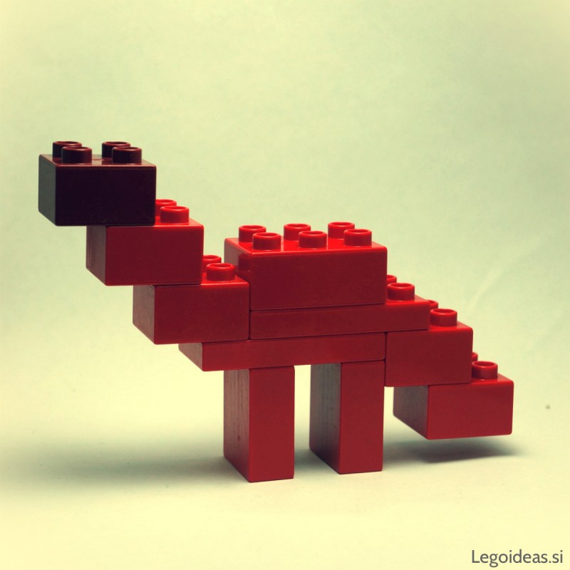 Lego Duplo simple Diplodocus