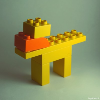 Lego Duplo simple dog 3