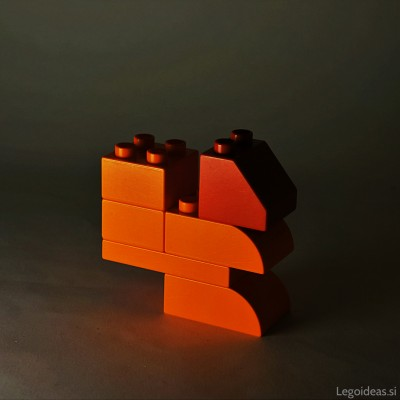 Lego Duplo squirrel