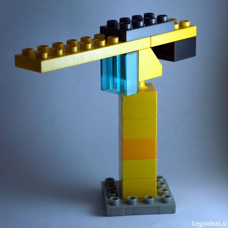 Lego Duplo tower crane