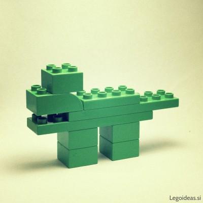 Lego Duplo wolf