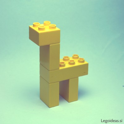 Lego Duplo simple giraffe