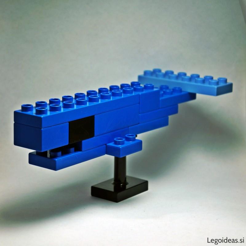 Lego Duplo whale