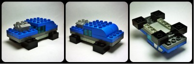 Lego Duplo muscle car mustang gto