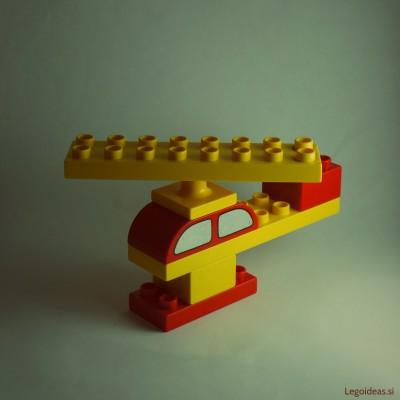 Lego Duplo basic helicopter