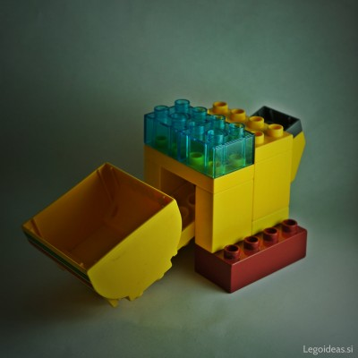 Lego Duplo wheel loader idea